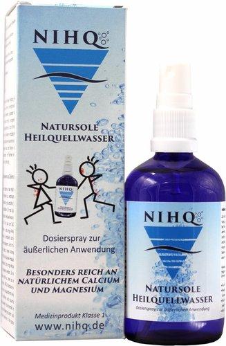 NIHQ Natursole Heilquellwasser