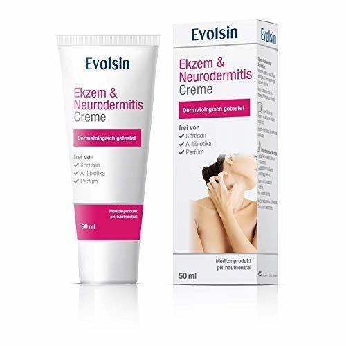 Evolsin Ekzem und Neurodermitis Creme