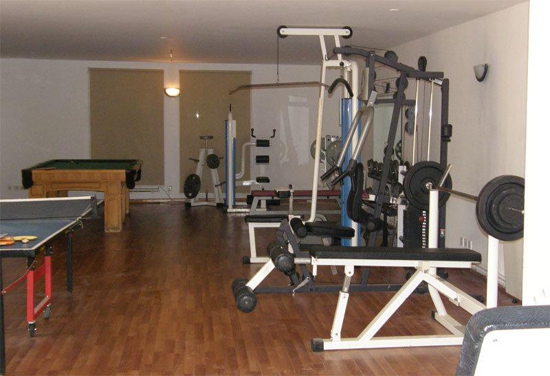 Fitnessraum im Dead Sea Spa Hotel