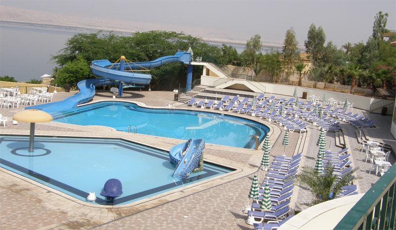 Swimmingpools am Dead Sea Spa Hotel