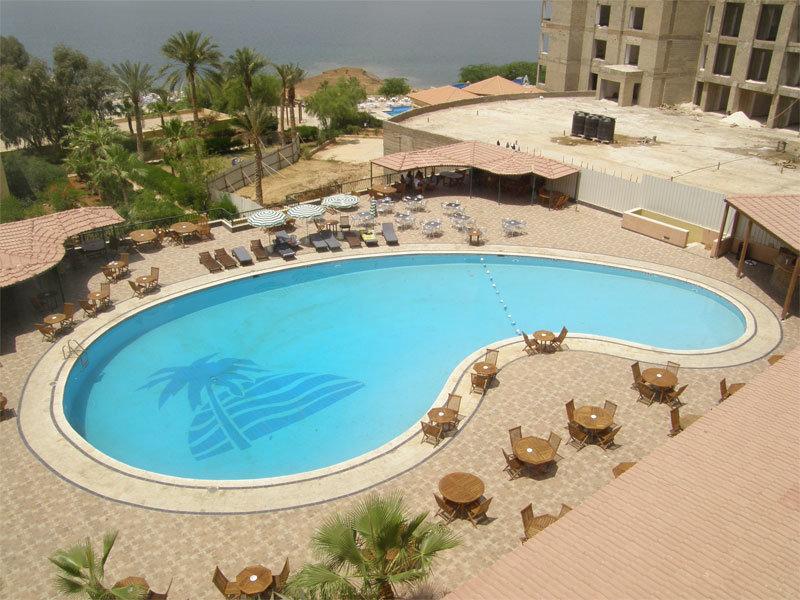 Swimmingpool am Dead Sea Spa Hotel