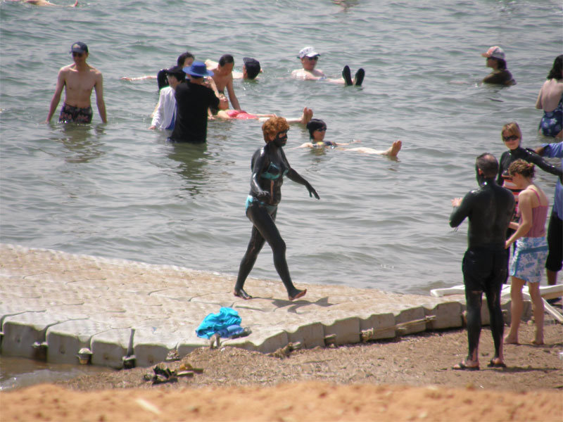 Strandleben am Dead Sea Spa Hotel