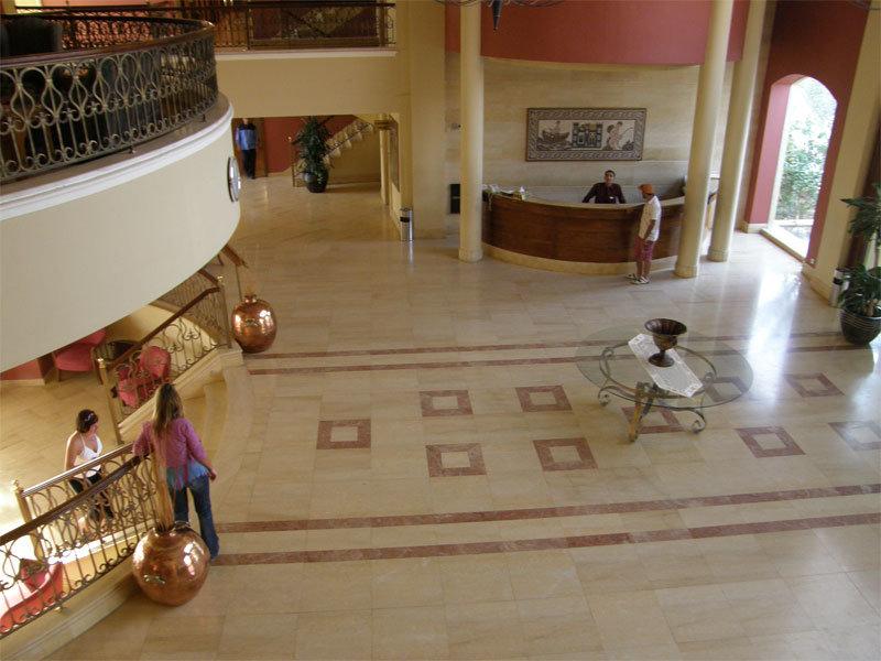 Lobby vom Dead Sea Spa Hotel
