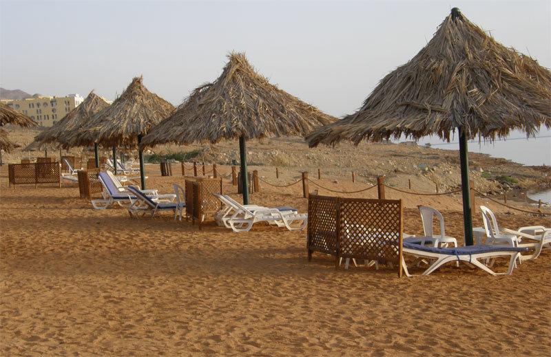Strand am Dead Sea Spa Hotel