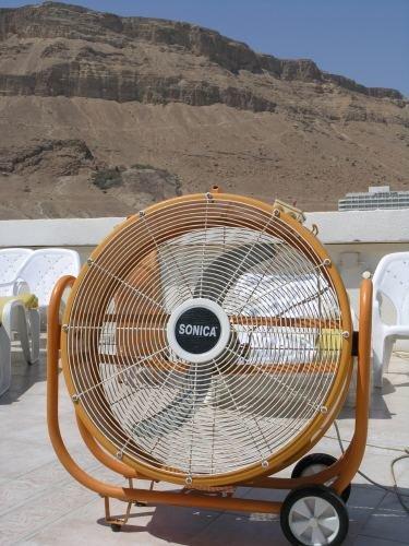 Heiß begehrt: ein Ventilator