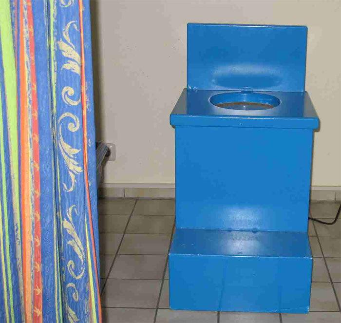 Keine Toilette!...