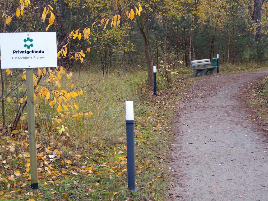 Gelände der Ostseeklinik