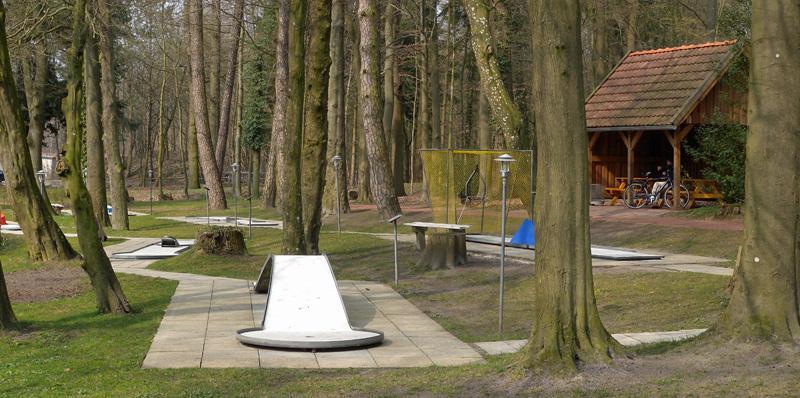 Minigolf im Kurpark