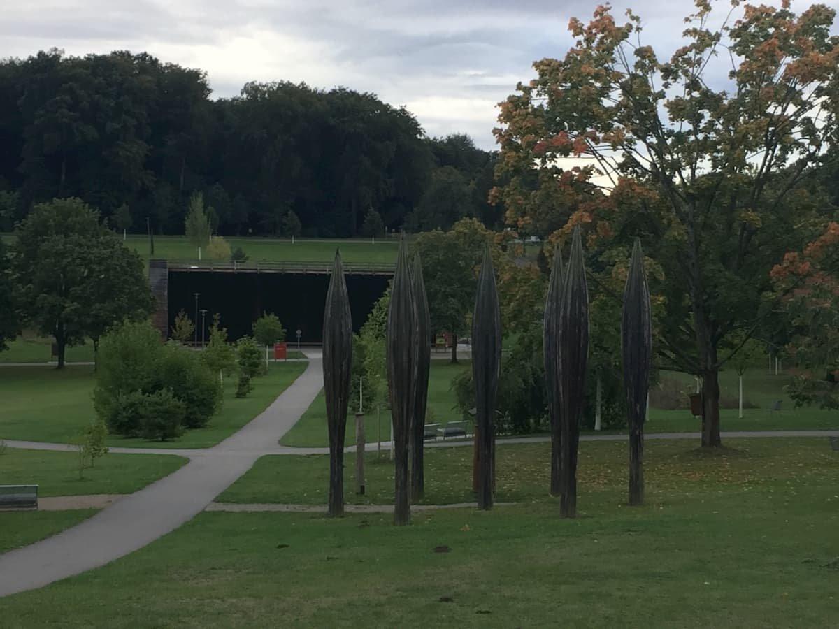 Blick in den Kurpark