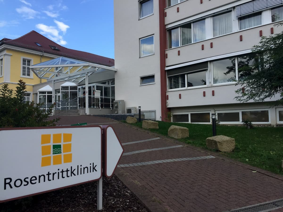Eingang der Rosentritt-Klinik