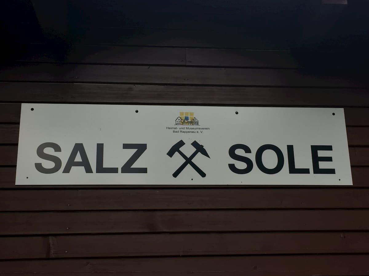 Salz und Sole gehören zu Bad Rappenau