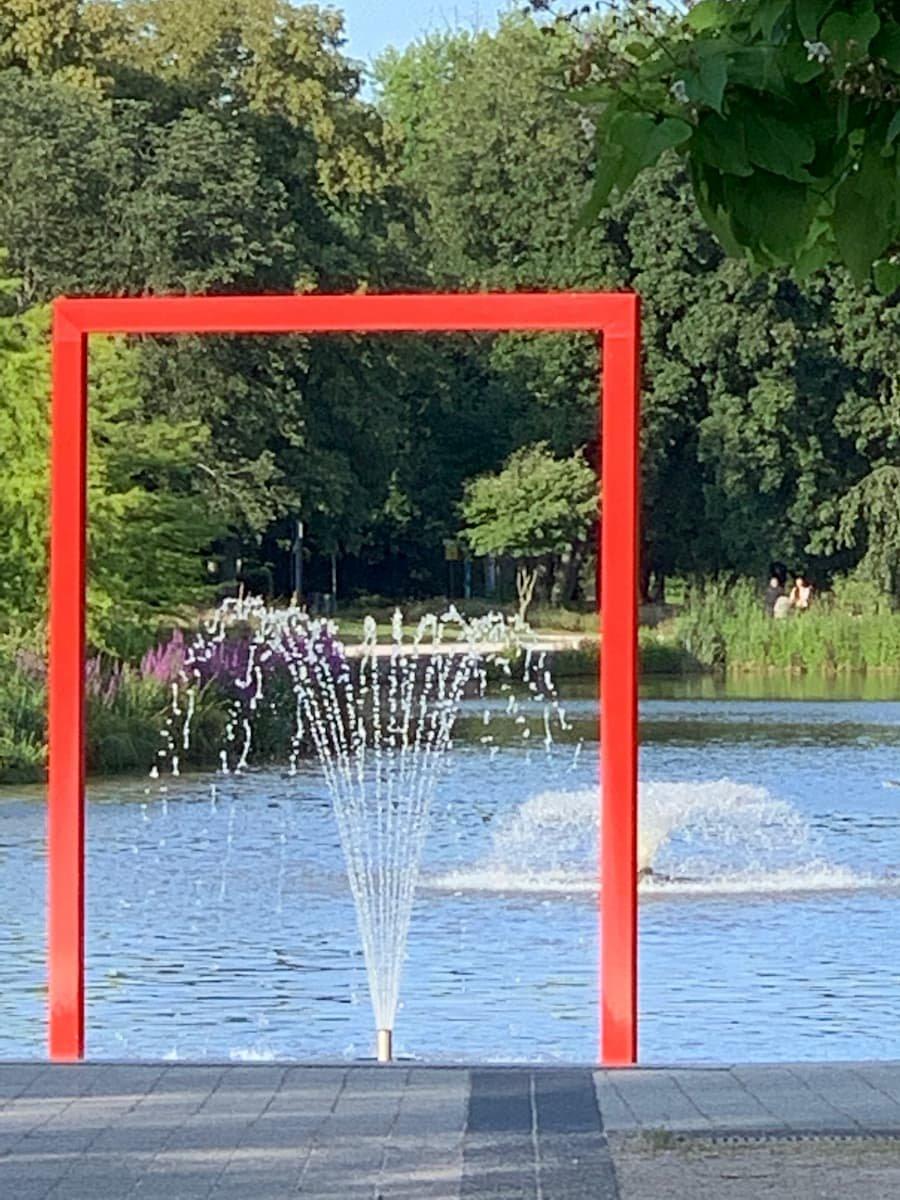 Wasserspiel im Kurpark