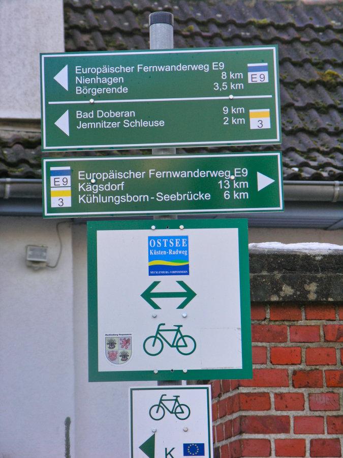 Wandern rund um Heiligendamm