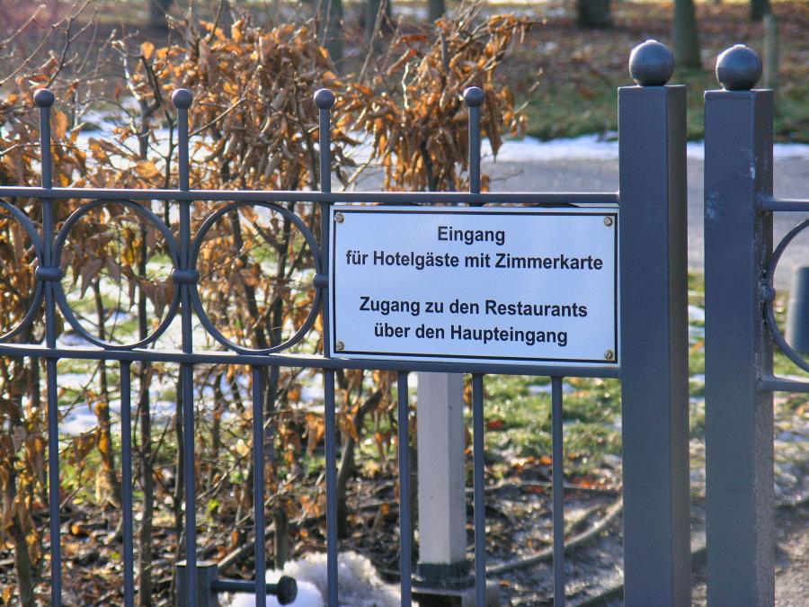 Zaun in Heiligendamm