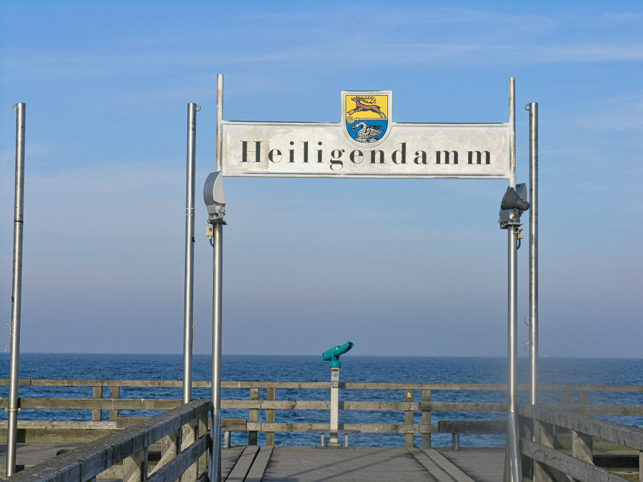 Heiligendamm – das klassische Schild