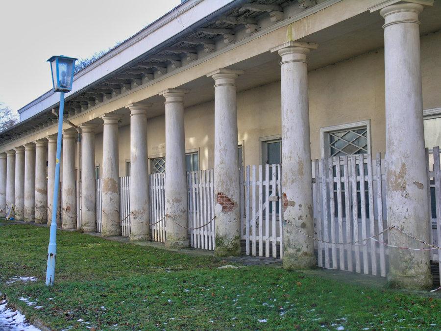 Ein unsaniertes Gebäude