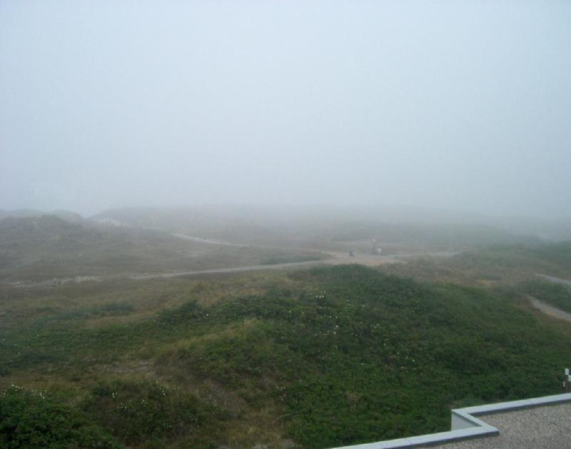 Küstennebel auf Norderney