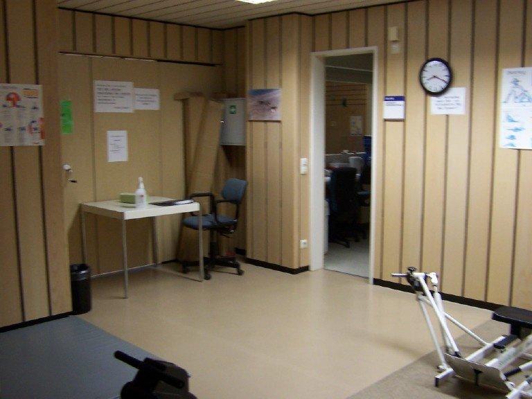 Sportraum in der Nordseeklinik Borkum